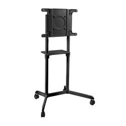 "Stand mobil rotativ pentru Displayuri interactive Blackmount TROT600, 37-70"", 50 Kg, Negru"