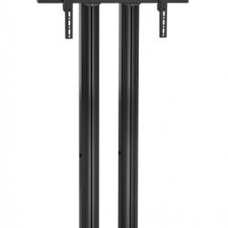 Stand TV podea fix Vogels FD1544 / FD1844 / FD2044 NEGRU max 160 kg.