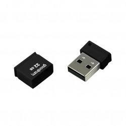 Stick USB 32 GB USB 2.0 20 MB/s (rd) - 5 MB/s (wr) flash drive black (UPI2-0320K0R11)