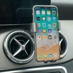 Suport auto pentru telefon CLEC cu prindere exclusiv pentru Mercedes Benz GLC / C Class , negru