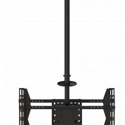 """Suport tv tavan LCD/LED Dublu Spate in Spate Multibrackets 5491,42-70"""",negru,inalt. regl.:min.832 - max.3000 mm,max.70kg"""