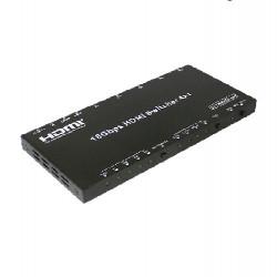 Switch HDMI 2.0 4K 4:4:4 16gps, UHD -> 4x1 EVOCONNECT HDS-B41A, ARC