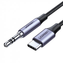 UGREEN mini jack 3,5mm AUX to USB-C Cable 1 m (deep gray)