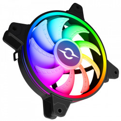 VENTILATOR 120 MM AQIRYS CETUS 6P-12SLI22-RGB, 1200 RPM, 6-PIN