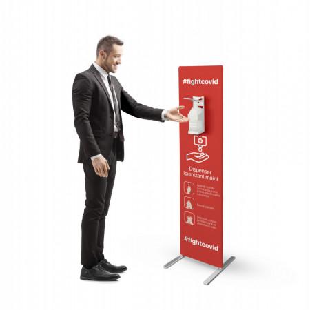 Stand Cu Dispenser Manual Dezinfectant