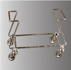 Suport pe rotile pentru cosuri de cumparaturi 28 lt
