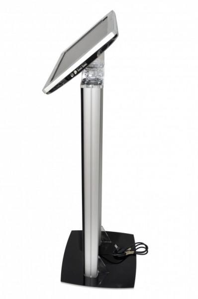 Stand tabletă cu picior SL și carcasa din plexiglas