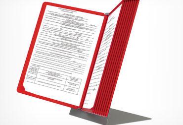 Suport de tejghea infoline pentru rame A4
