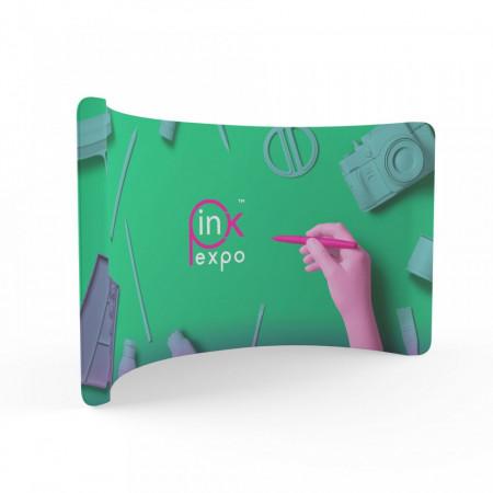 Pop-up Textil Curbat C 480x228 Print Two Sided