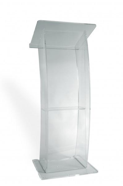 Pupitru pentru vorbitor conferințe, din plexiglas transparent
