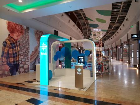 stand expozitie indoor