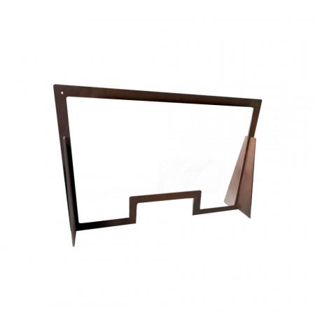 Protecție din lemn pentru birou