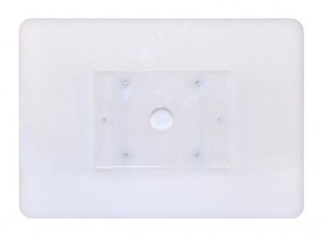 Suport securizat din plexiglas cu prindere pe perete pentru tablete, landscape sau portrait