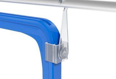 Carlig de suspendare rotitor pentru rame plastic