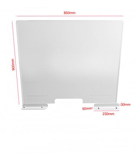 Panou despartitor transparent COVID-19