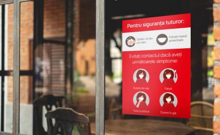 Poster Informare Masuri Preventie 50x70