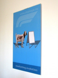 Clear Line Acrylic Poster Suport