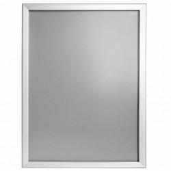 Rama click Poster Frame din aluminiu 32, colturi drepte A2