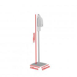 Stand Dezinfectant cu Dozator Automat Profil Rectangular