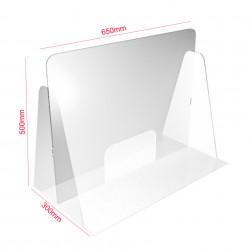 Panou transparent protectie desk ✅farmacii ✅birouri ✅receptii