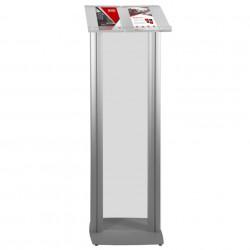 Pupitru pentru conferințe din plexiglas și aluminiu