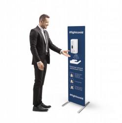 Stand Cu Dispenser Automat Dezinfectant