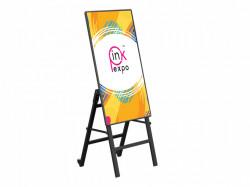 Suport TV de podea, stand înclinat, Semnalizare Digitală pentru televizor, diagonală ecran 32 - 55 inch