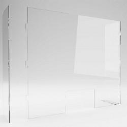 Panou transparent protectie laterale ✅receptii ✅magazine ✅farmacii ✅birouri