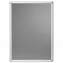 Rama click 25, Poster Frame din aluminiu cu colturi rotunde A4