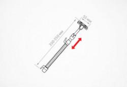 Suport rama ABS cu tub telescopic pentru cosuri sarma