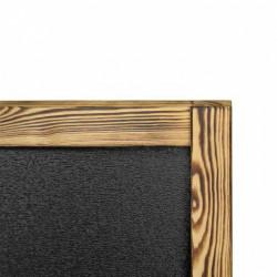People Stopper Wood Capra Lemn cu Tabla de Scris
