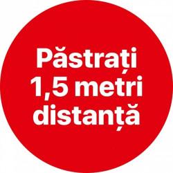 Autocolant Cerc Pastrati 1,5m 30 x 30 cm