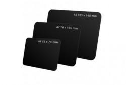Eticheta PVC A8/A7/A6 negru