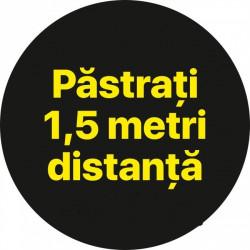 Autocolant Cerc Pastrati 1,5m 20 x 20 cm