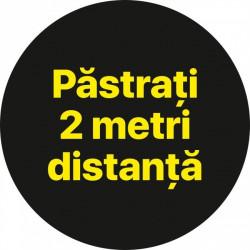 Autocolant Cerc Pastrati 2m 30 x 30 cm