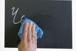 Marker creta lichida alba