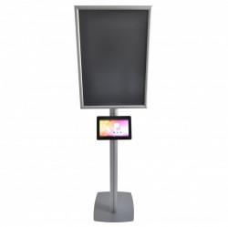 Infoboard SF SL, cu ramă click 25/45 S5 și carcasă din plexiglas