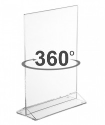 Suport Plexiglas Menu Card Holder