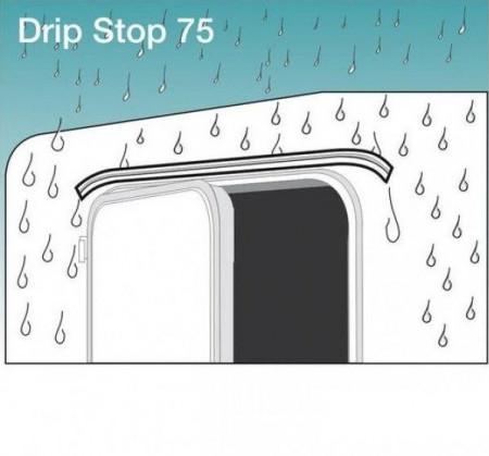 Jgheab protectie ploaie pentru rulote sau autorulote