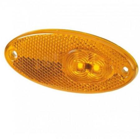 Lampă LED laterală pentru rulote (105 x 45 mm)