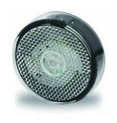Lampă frontala de pozitie LED pentru rulote (Ø 60 mm)