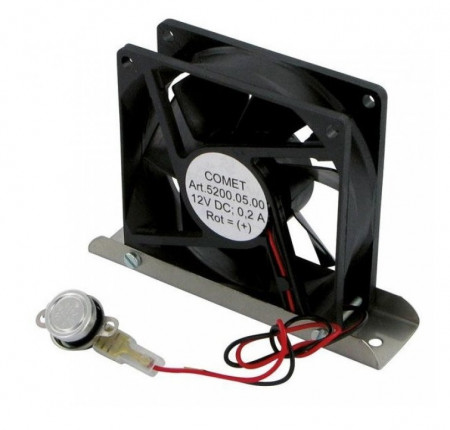 Ventilator suplimentar pentru frigiderele din rulota sau autorulota