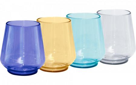Set pahare colorate din tritan (350ml)