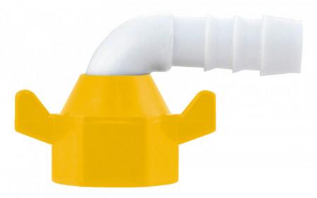Stut de conexiune pentru pompa de apa externa la 90°; furtun 10mm (2 buc)