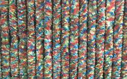 Perdea din țesătură tip chenille multicolor