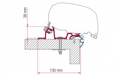 Adaptoare universale Fiamma montaj acoperis