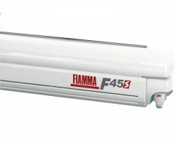 "Copertina / marchiza ""Fiamma F45s"" caseta alba pentru rulote, autorulote sau minibus"