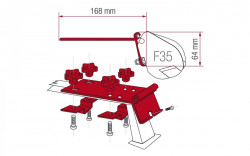 Adaptor van universal pentru copertina Fiamma F35