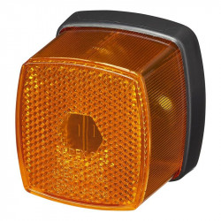 Lampa pozitie lateral (portocaliu) cu reflector, 66 x 62 mm