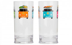 Pahare Campers smiles 480ml - set 2 buc